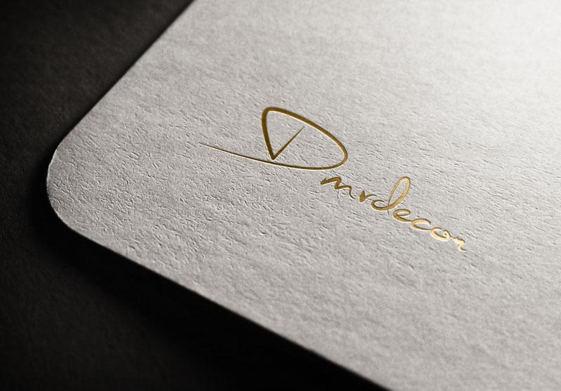Logo Design by Salah Uddin - Entry No. 28 in the Logo Design Contest dmvdecor Logo Design.