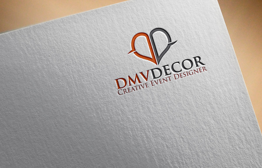 Logo Design by Private User - Entry No. 44 in the Logo Design Contest dmvdecor Logo Design.
