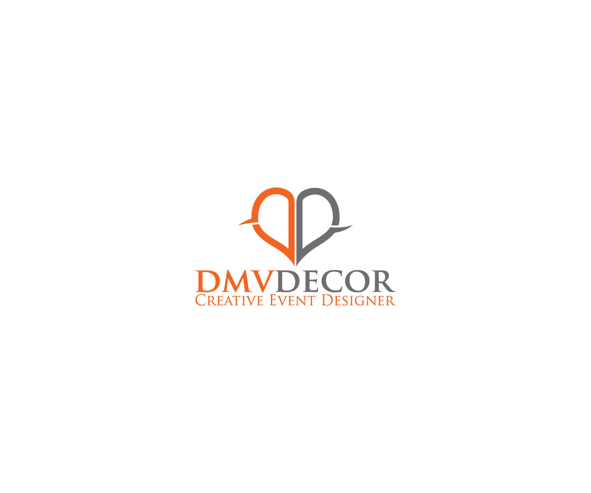 Logo Design by Private User - Entry No. 47 in the Logo Design Contest dmvdecor Logo Design.