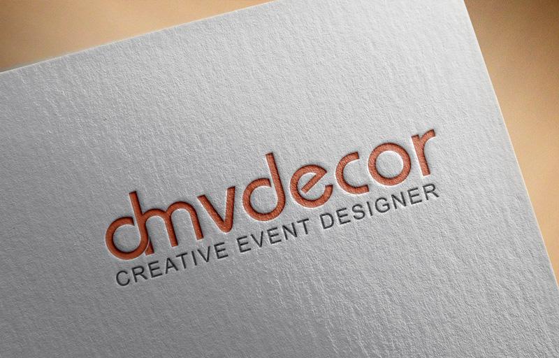 Logo Design by MAlamgir Hossain - Entry No. 53 in the Logo Design Contest dmvdecor Logo Design.