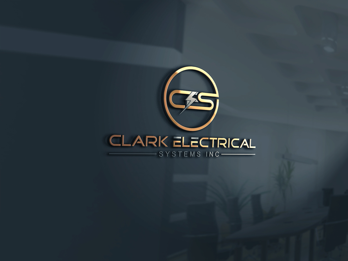 Logo Design by Kamal Hossain - Entry No. 262 in the Logo Design Contest Artistic Logo Design for Clark Electrical Systems Inc..