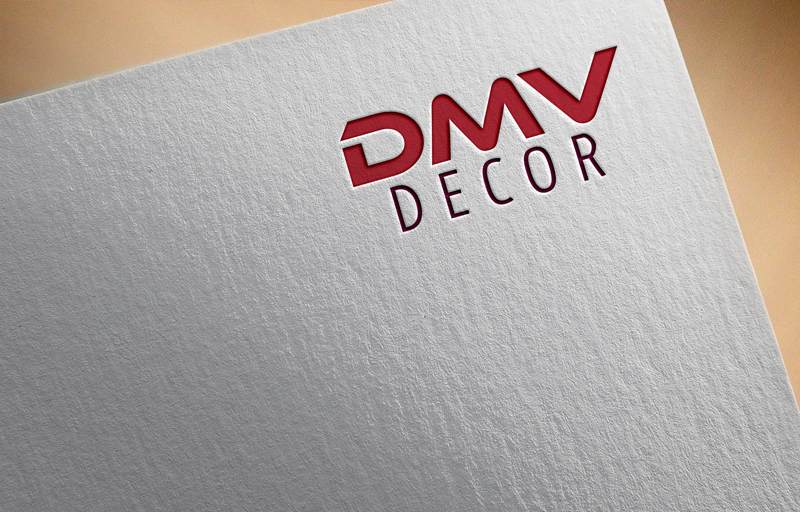 Logo Design by Ashraful Alam - Entry No. 66 in the Logo Design Contest dmvdecor Logo Design.