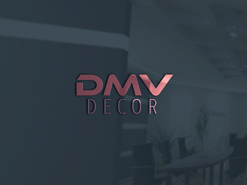 Logo Design by Ashraful Alam - Entry No. 67 in the Logo Design Contest dmvdecor Logo Design.