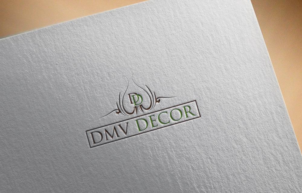 Logo Design by Rased Vai - Entry No. 76 in the Logo Design Contest dmvdecor Logo Design.
