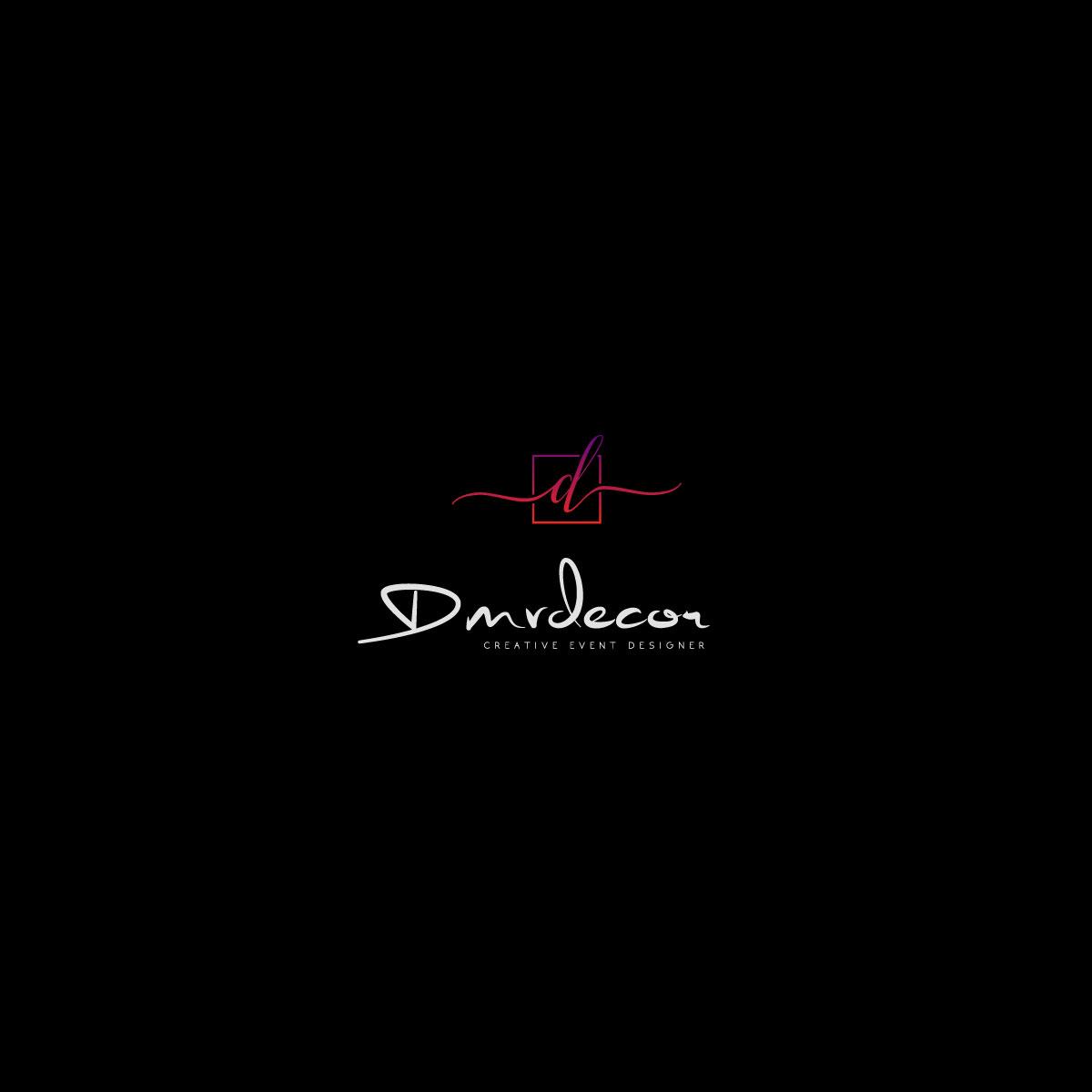 Logo Design by M h Rubel - Entry No. 87 in the Logo Design Contest dmvdecor Logo Design.