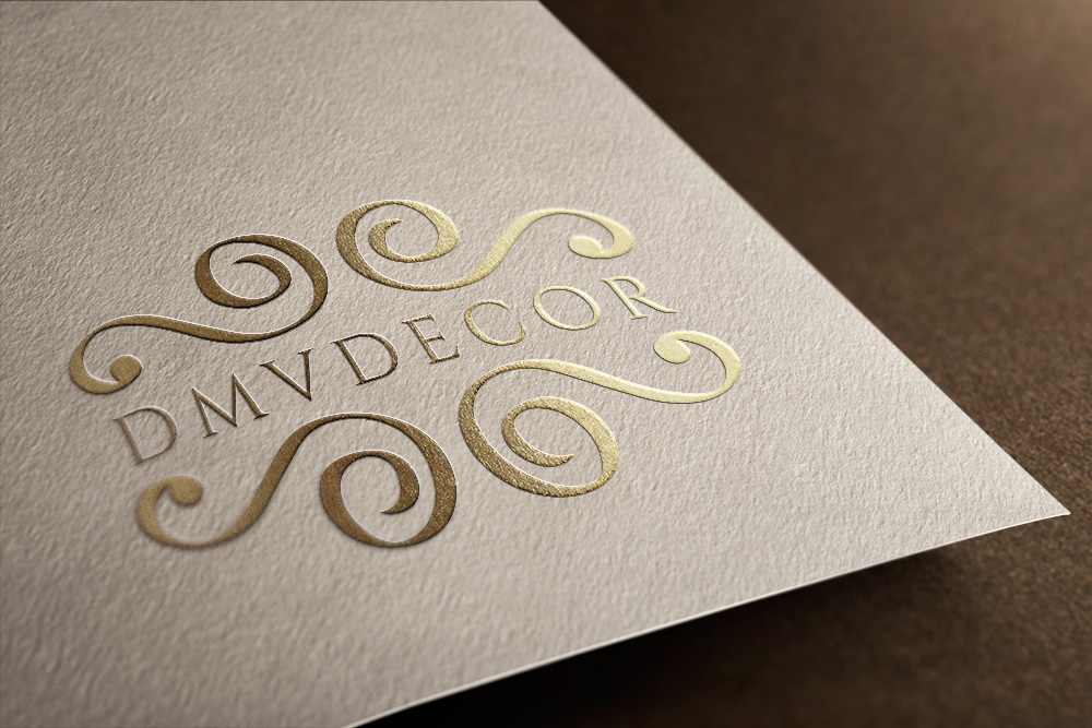 Logo Design by Kamal Hossain - Entry No. 105 in the Logo Design Contest dmvdecor Logo Design.