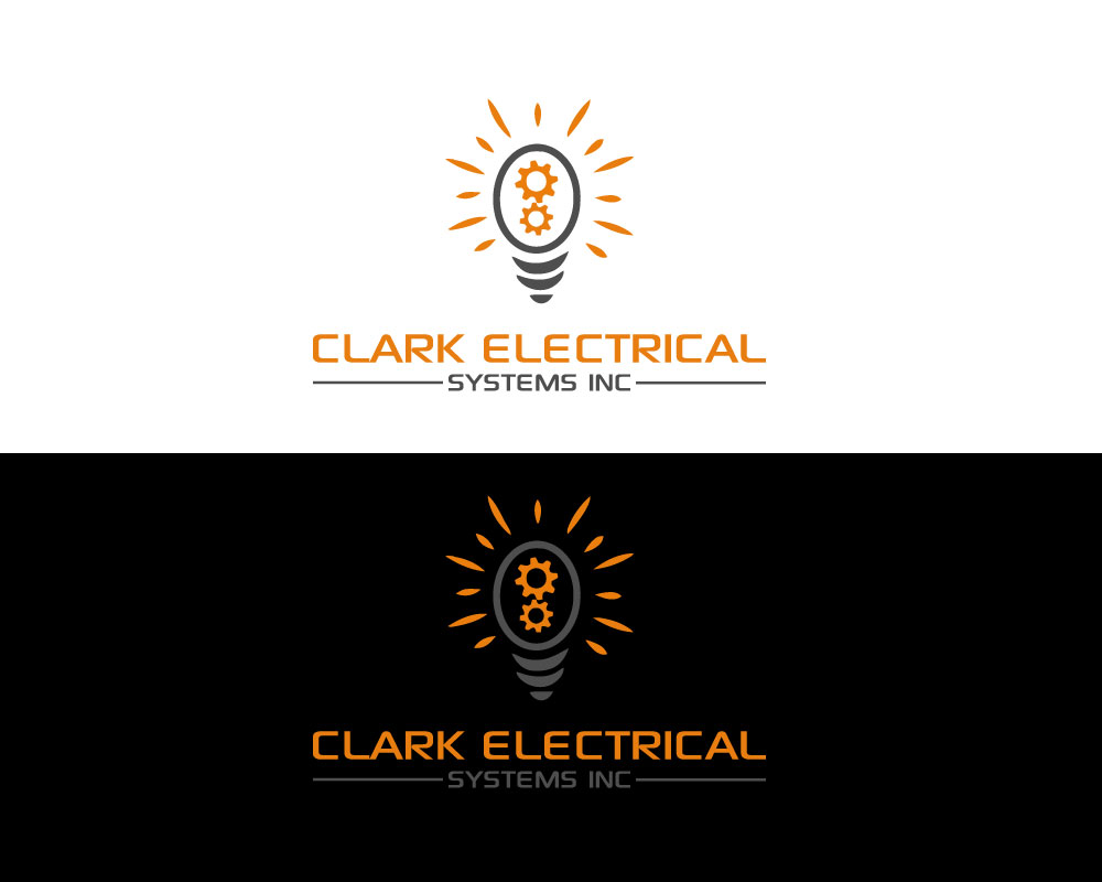 Logo Design by Mohammad azad Hossain - Entry No. 266 in the Logo Design Contest Artistic Logo Design for Clark Electrical Systems Inc..