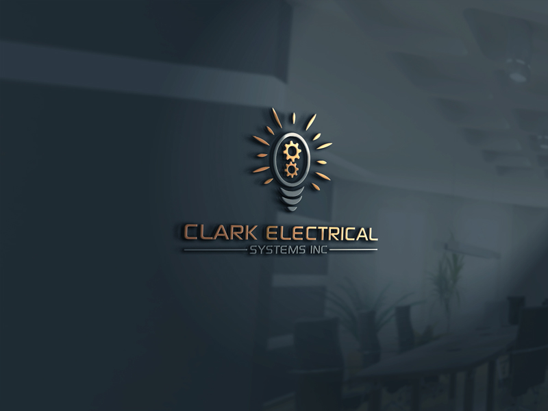 Logo Design by Mohammad azad Hossain - Entry No. 267 in the Logo Design Contest Artistic Logo Design for Clark Electrical Systems Inc..
