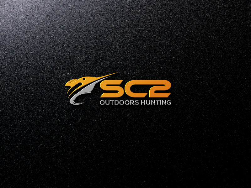 Logo Design by Mohammad azad Hossain - Entry No. 261 in the Logo Design Contest Imaginative Logo Design for SC2 Outdoors Hunting / Fishing Logo.