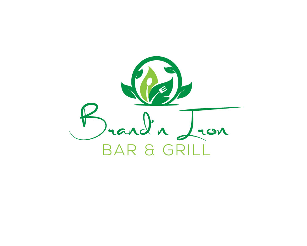 Logo Design by Mohammad azad Hossain - Entry No. 214 in the Logo Design Contest Captivating Logo Design for Brand'n Iron Bar & Grill.
