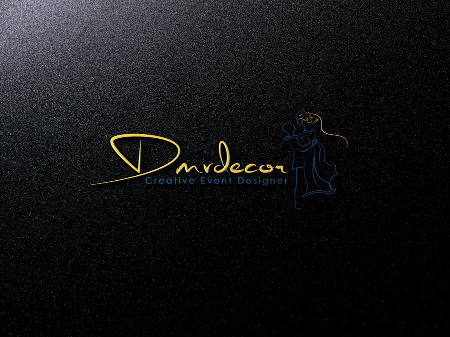 Logo Design by Abdur Rahman - Entry No. 119 in the Logo Design Contest dmvdecor Logo Design.