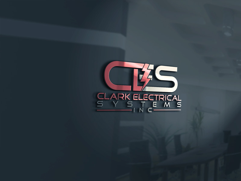 Logo Design by Private User - Entry No. 272 in the Logo Design Contest Artistic Logo Design for Clark Electrical Systems Inc..