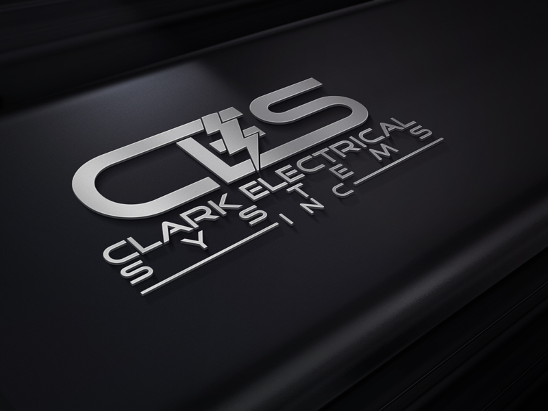 Logo Design by Private User - Entry No. 273 in the Logo Design Contest Artistic Logo Design for Clark Electrical Systems Inc..