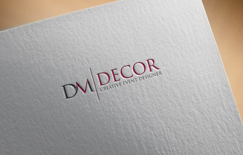 Logo Design by ARMAN HOSSAIN - Entry No. 124 in the Logo Design Contest dmvdecor Logo Design.