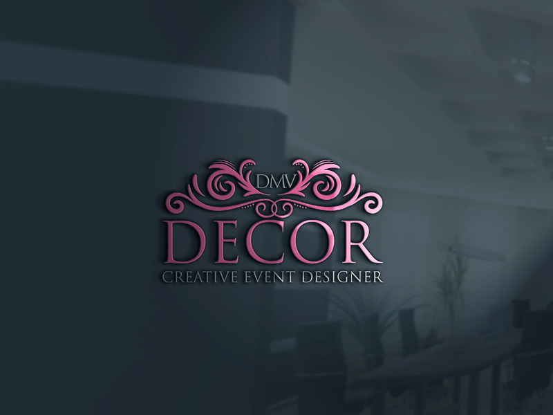 Logo Design by ARMAN HOSSAIN - Entry No. 127 in the Logo Design Contest dmvdecor Logo Design.
