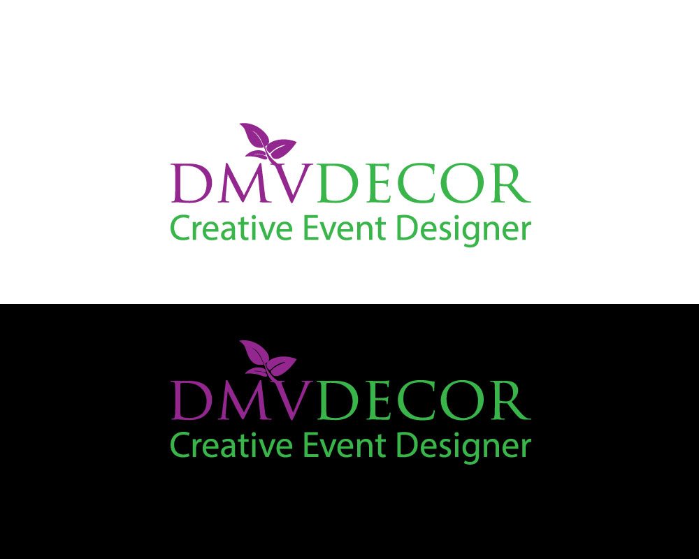 Logo Design by Mohammad azad Hossain - Entry No. 132 in the Logo Design Contest dmvdecor Logo Design.