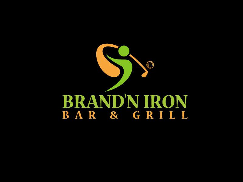 Logo Design by Md Harun Or Rashid - Entry No. 220 in the Logo Design Contest Captivating Logo Design for Brand'n Iron Bar & Grill.