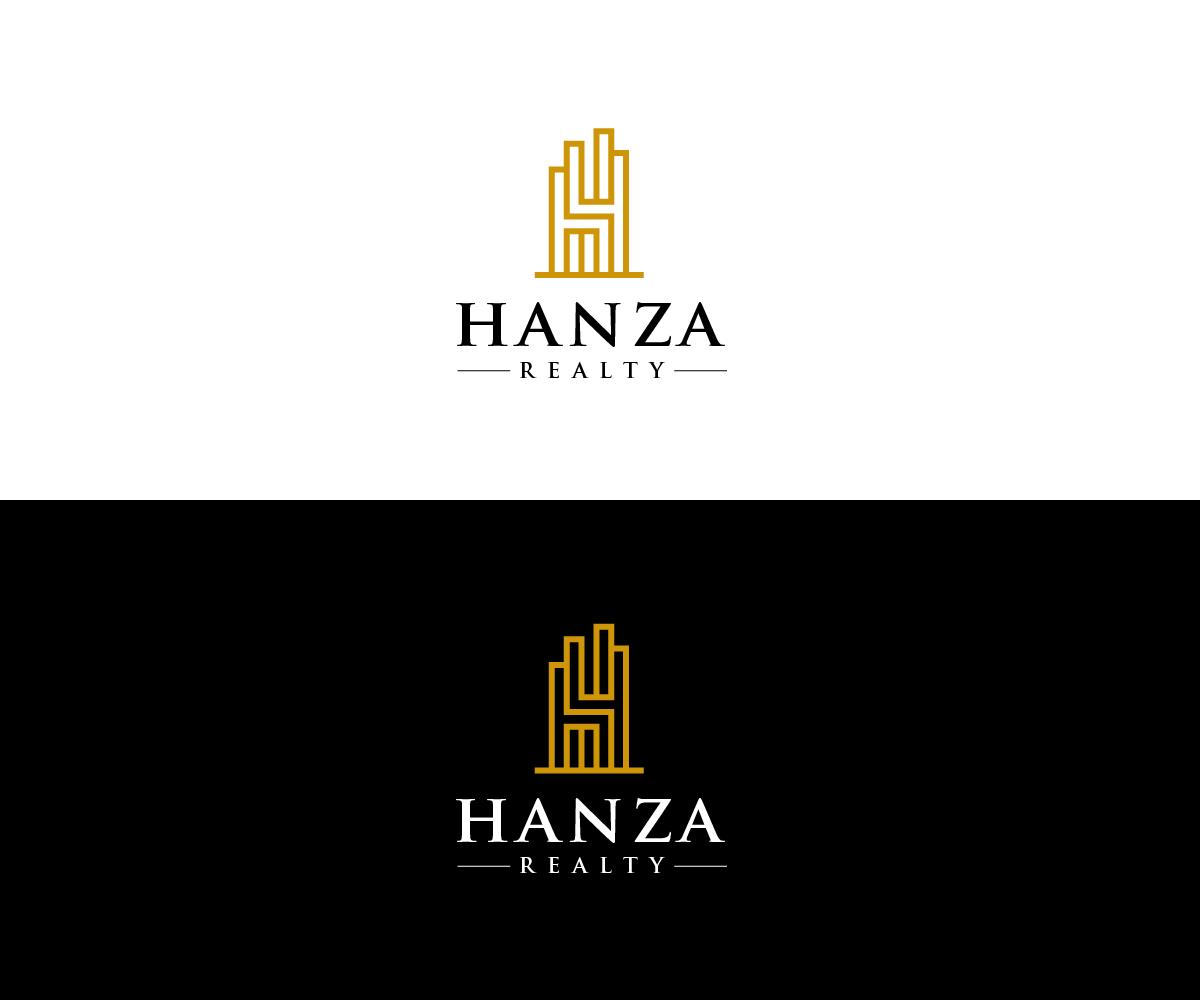 Logo Design by Juan Luna - Entry No. 375 in the Logo Design Contest Logo Design for Hanza Realty.