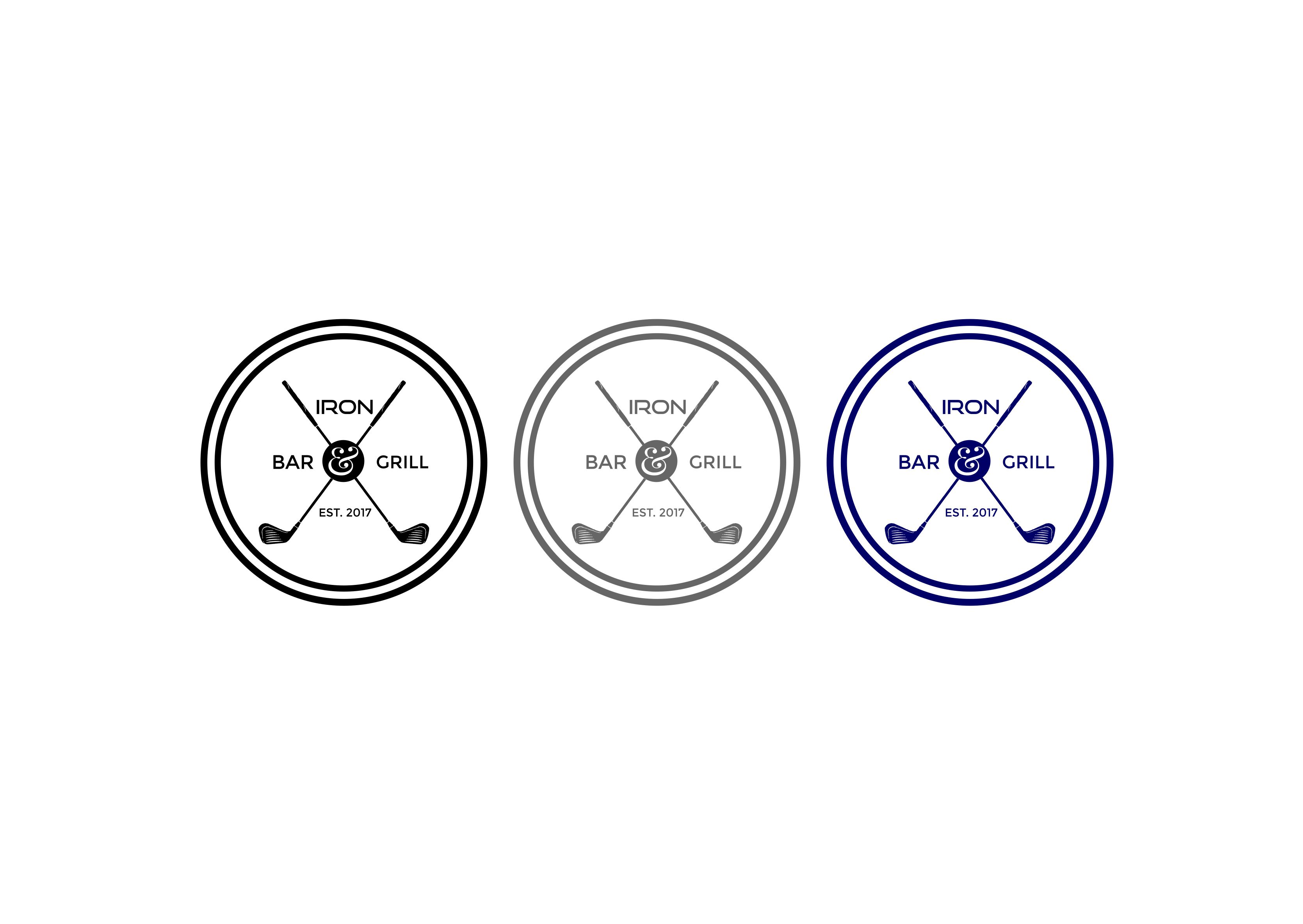 Logo Design by Gilang Satria - Entry No. 222 in the Logo Design Contest Captivating Logo Design for Brand'n Iron Bar & Grill.