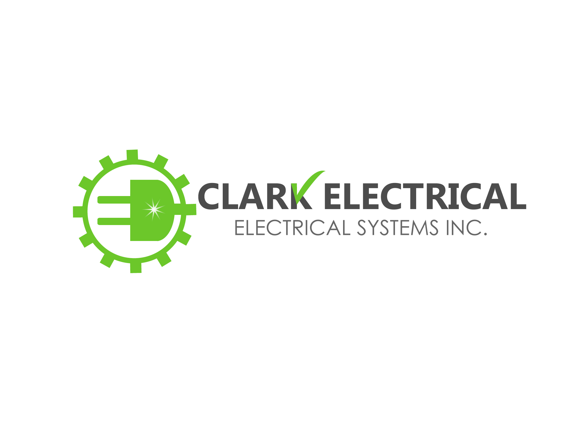 Logo Design by Private User - Entry No. 279 in the Logo Design Contest Artistic Logo Design for Clark Electrical Systems Inc..