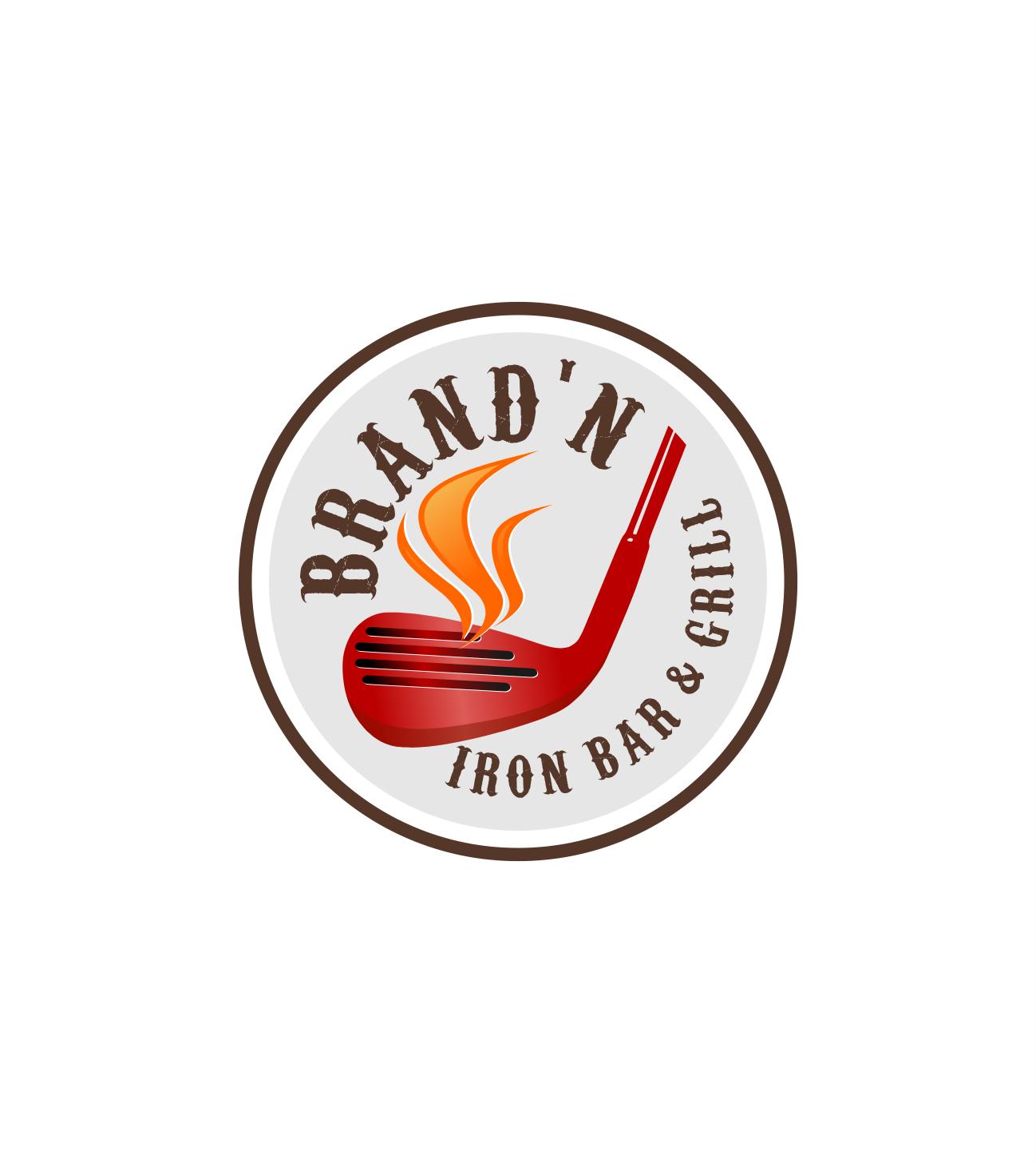 Logo Design by Raymond Garcia - Entry No. 223 in the Logo Design Contest Captivating Logo Design for Brand'n Iron Bar & Grill.