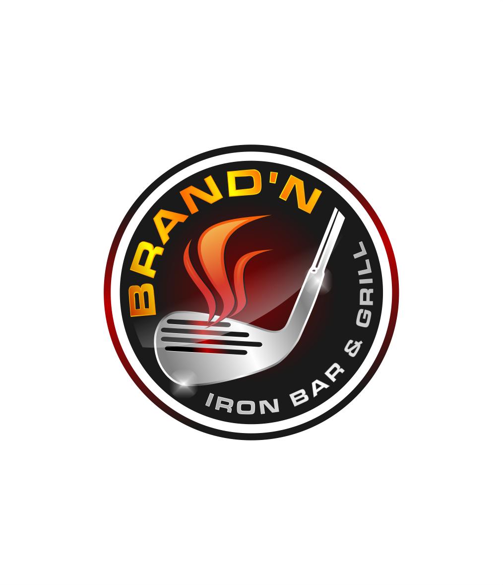 Logo Design by Raymond Garcia - Entry No. 225 in the Logo Design Contest Captivating Logo Design for Brand'n Iron Bar & Grill.