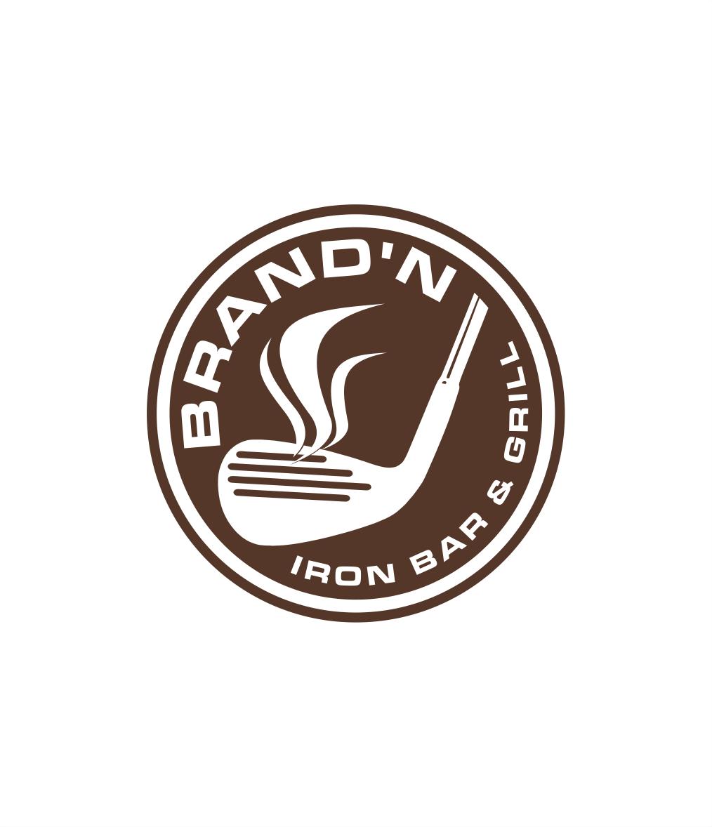 Logo Design by Raymond Garcia - Entry No. 227 in the Logo Design Contest Captivating Logo Design for Brand'n Iron Bar & Grill.