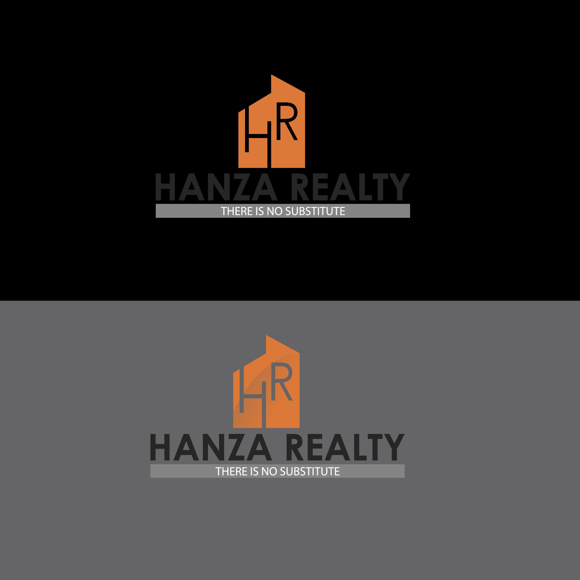 Logo Design by Runz - Entry No. 377 in the Logo Design Contest Logo Design for Hanza Realty.