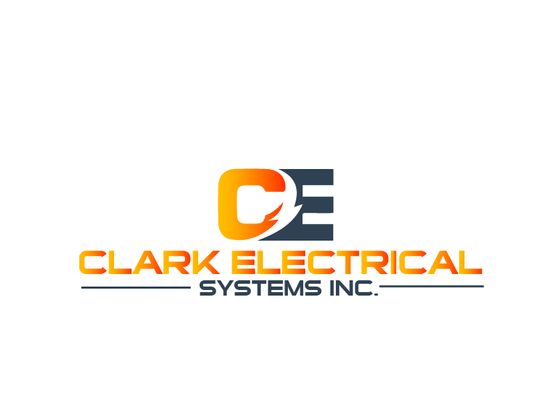 Logo Design by brands_in - Entry No. 284 in the Logo Design Contest Artistic Logo Design for Clark Electrical Systems Inc..