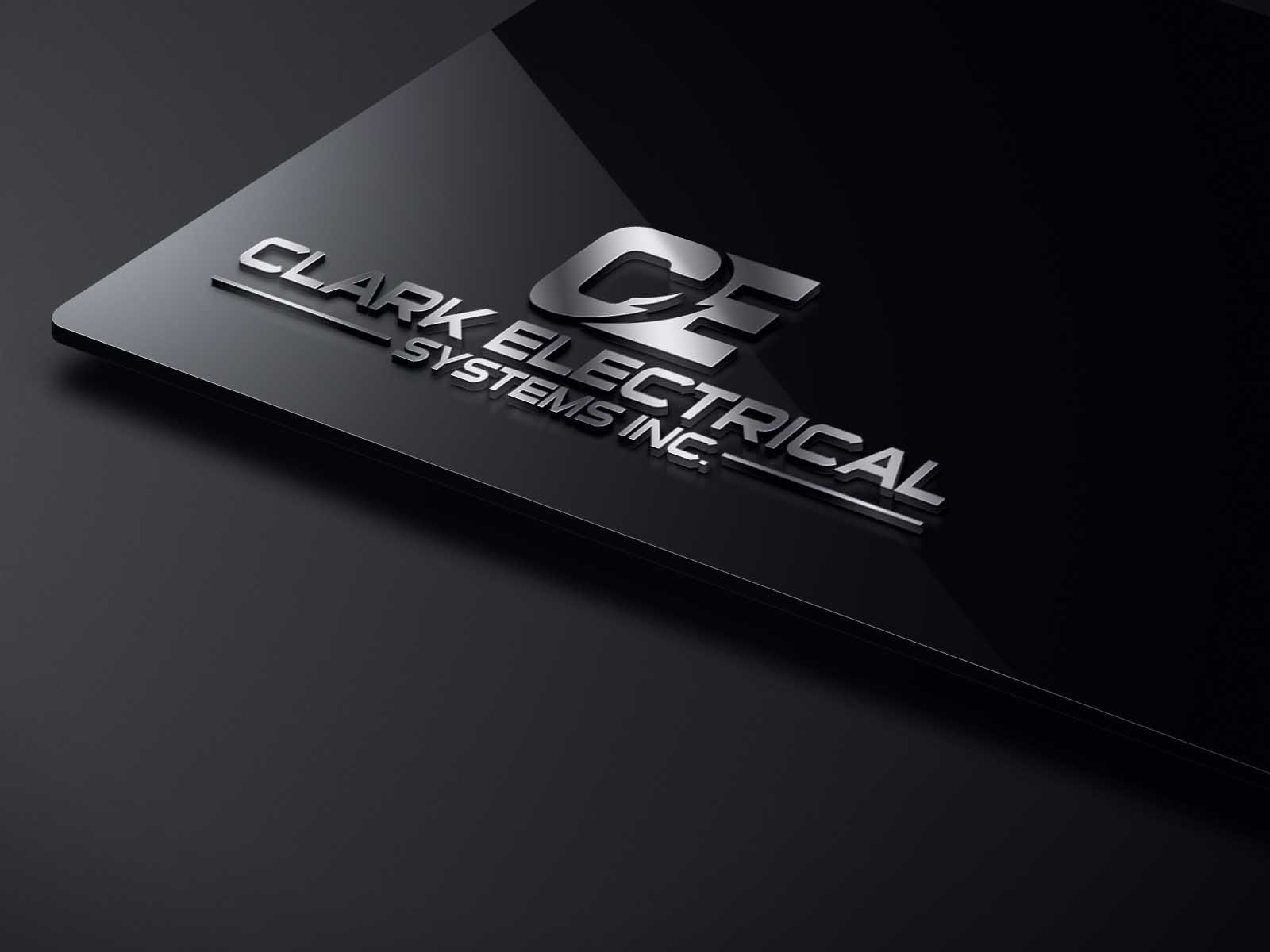 Logo Design by brands_in - Entry No. 285 in the Logo Design Contest Artistic Logo Design for Clark Electrical Systems Inc..