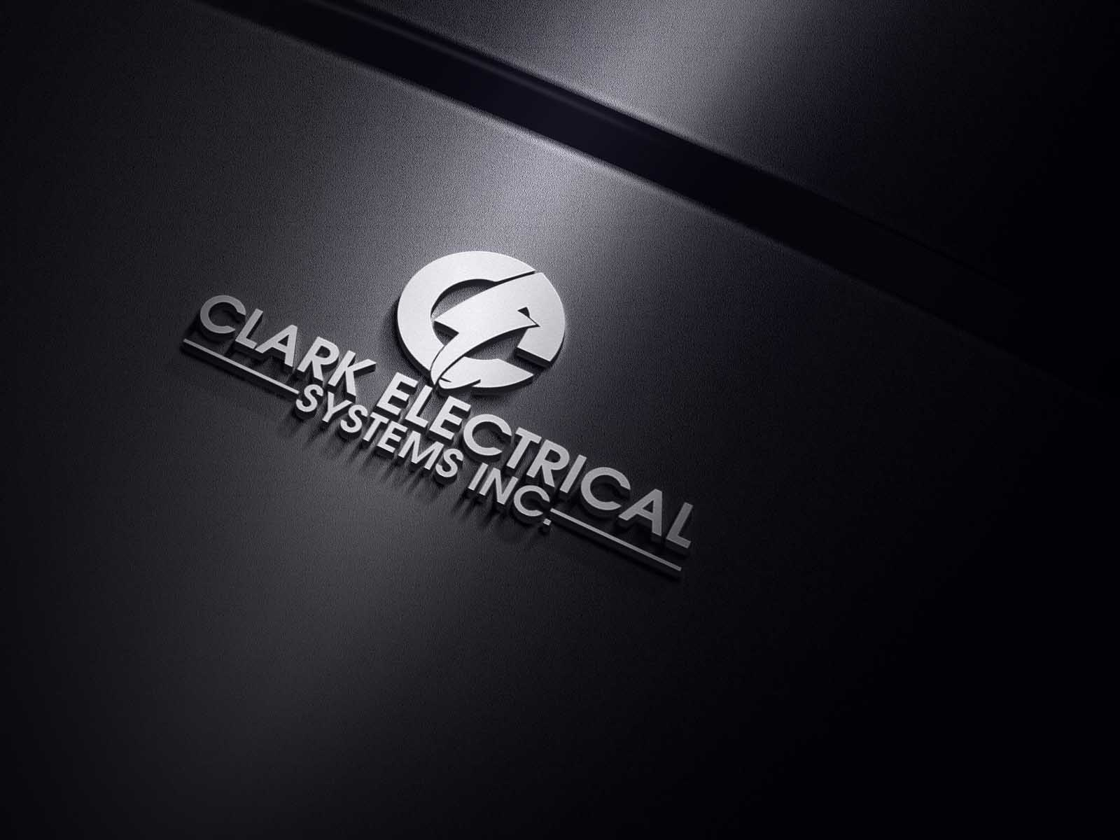 Logo Design by Private User - Entry No. 287 in the Logo Design Contest Artistic Logo Design for Clark Electrical Systems Inc..