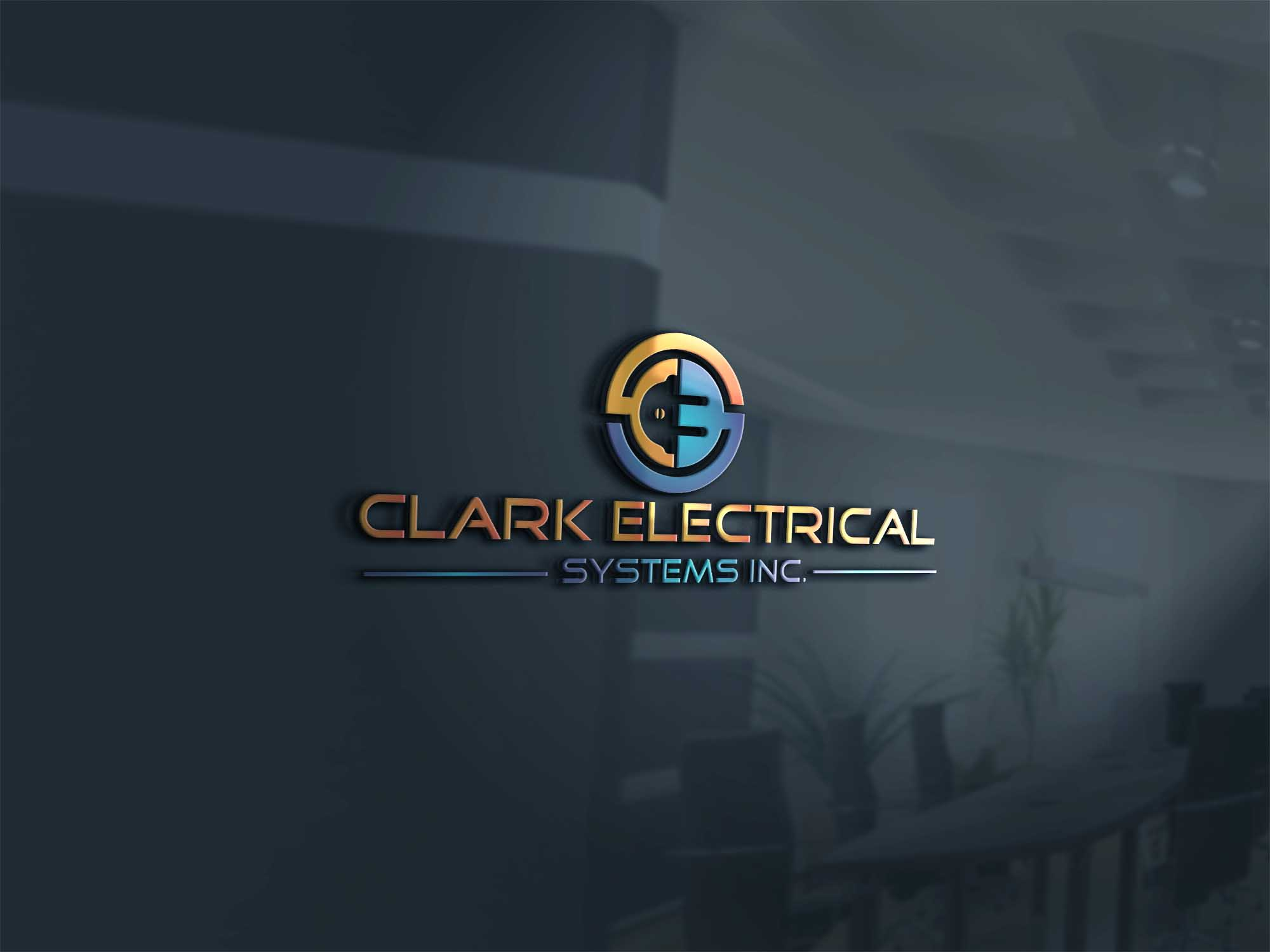 Logo Design by brands_in - Entry No. 292 in the Logo Design Contest Artistic Logo Design for Clark Electrical Systems Inc..