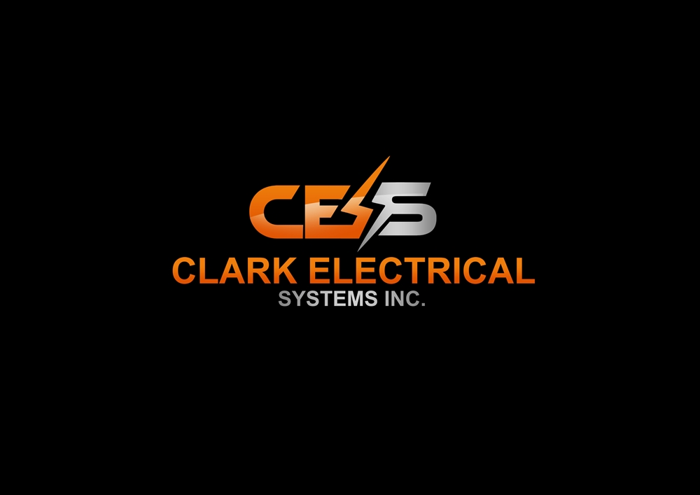 Logo Design by Banyumili - Entry No. 295 in the Logo Design Contest Artistic Logo Design for Clark Electrical Systems Inc..