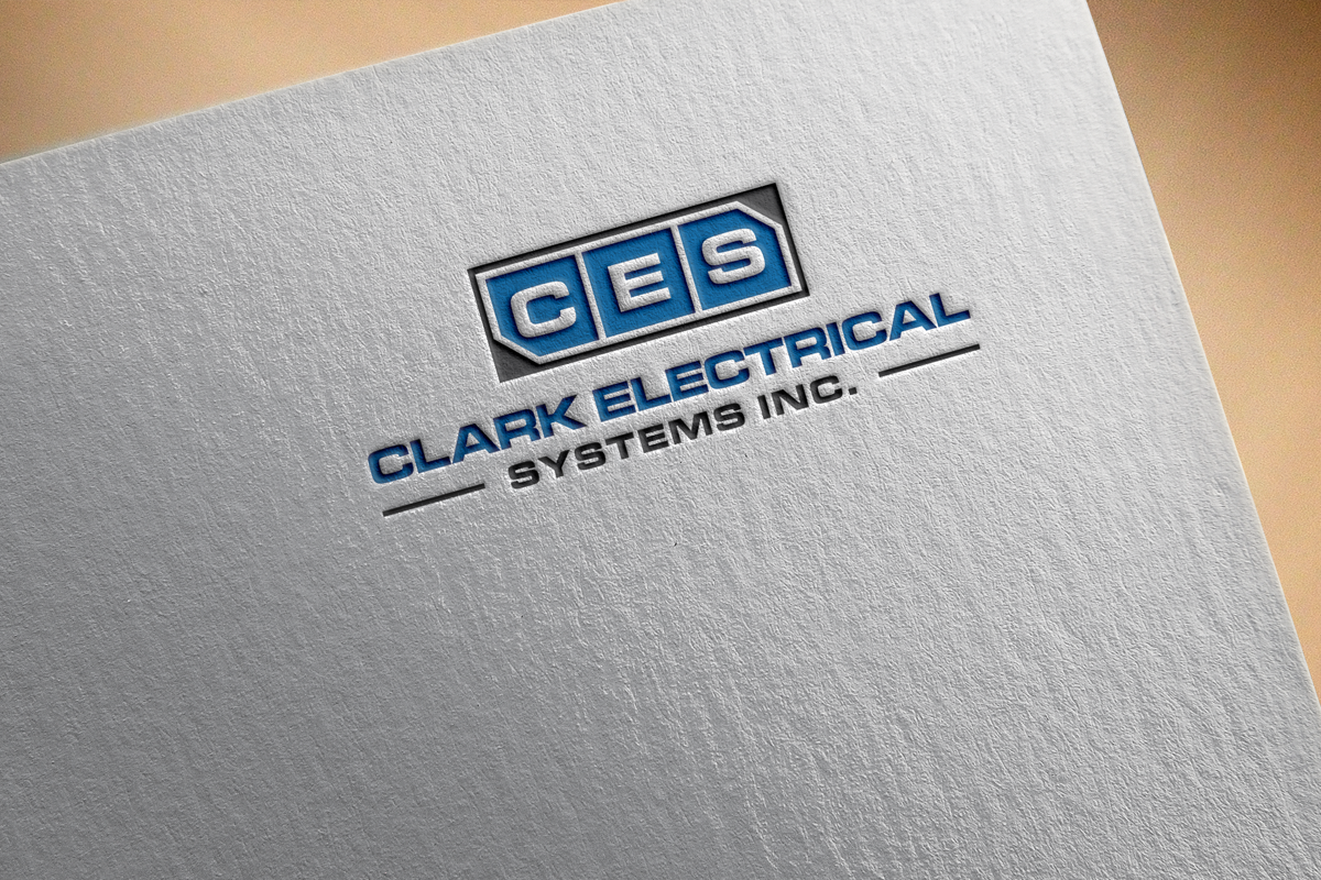 Logo Design by Nazmul Islam - Entry No. 299 in the Logo Design Contest Artistic Logo Design for Clark Electrical Systems Inc..
