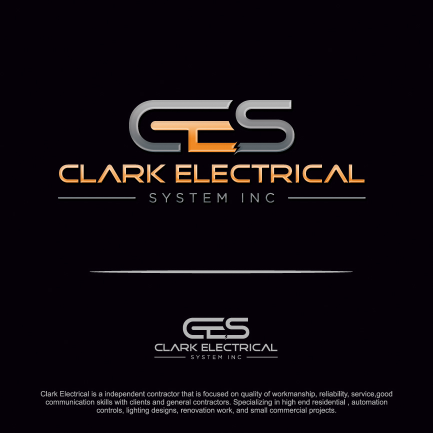 Logo Design Contests » Artistic Logo Design for Clark Electrical ...