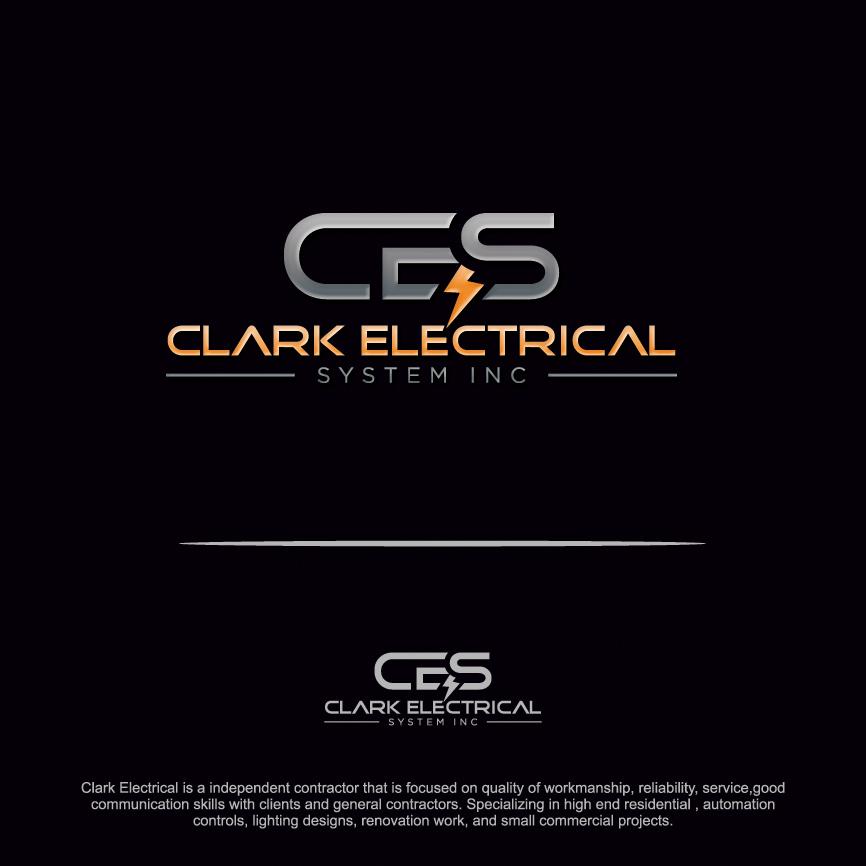 Logo Design by RasYa Muhammad Athaya - Entry No. 304 in the Logo Design Contest Artistic Logo Design for Clark Electrical Systems Inc..
