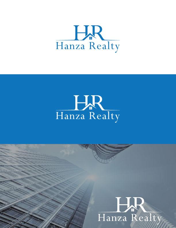 Logo Design by Md Rakibul Hasan - Entry No. 395 in the Logo Design Contest Logo Design for Hanza Realty.