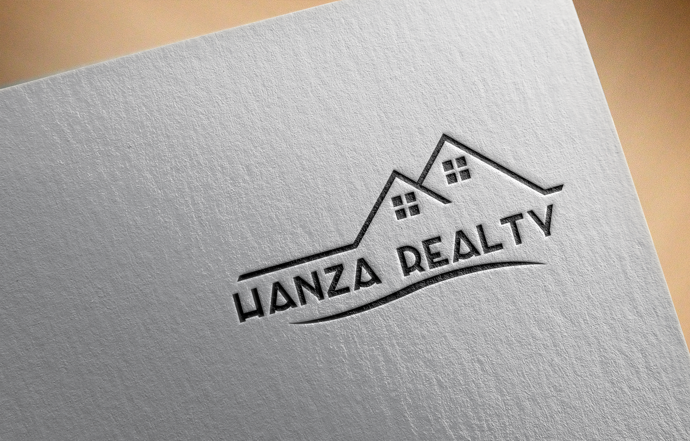 Logo Design by Prohor Ghagra - Entry No. 396 in the Logo Design Contest Logo Design for Hanza Realty.