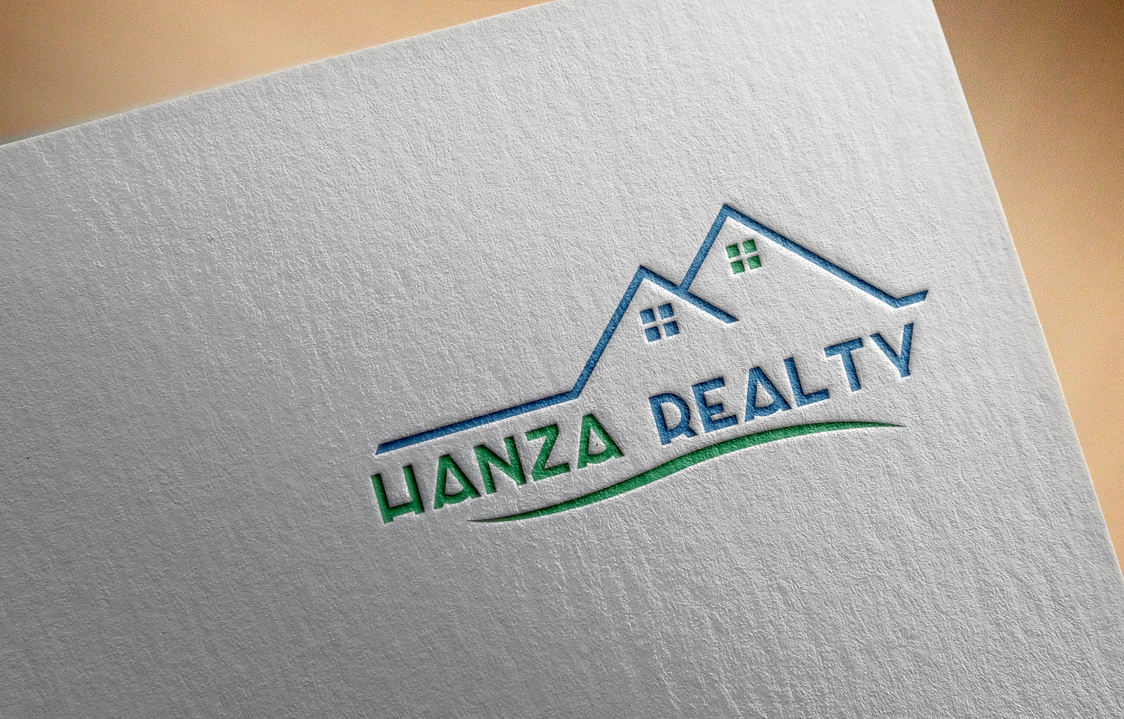 Logo Design by Prohor Ghagra - Entry No. 397 in the Logo Design Contest Logo Design for Hanza Realty.