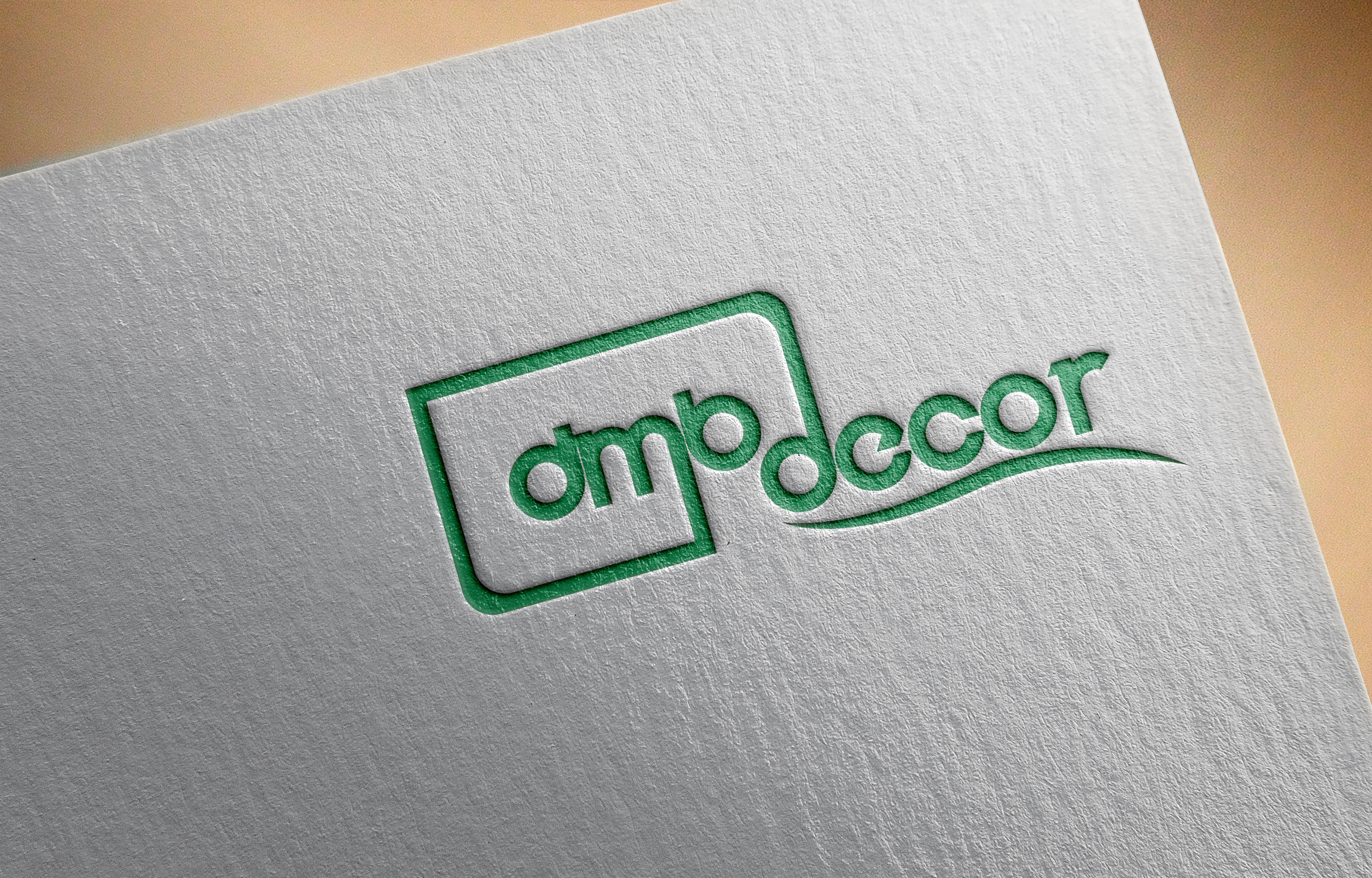 Logo Design by Prohor Ghagra - Entry No. 160 in the Logo Design Contest dmvdecor Logo Design.