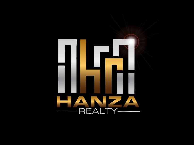 Logo Design by brands_in - Entry No. 398 in the Logo Design Contest Logo Design for Hanza Realty.