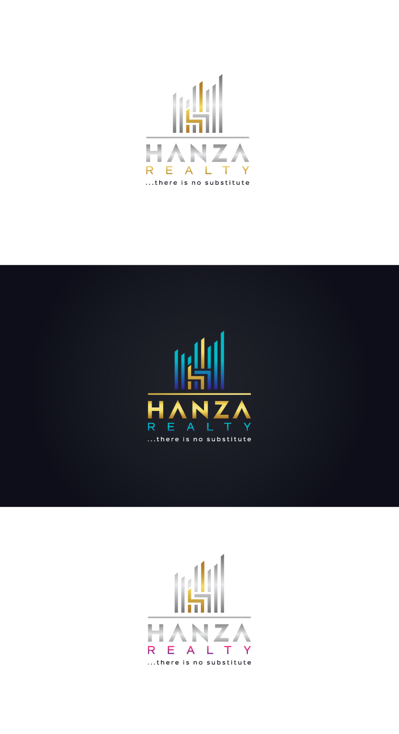 Logo Design by Tauhid Shaikh - Entry No. 400 in the Logo Design Contest Logo Design for Hanza Realty.