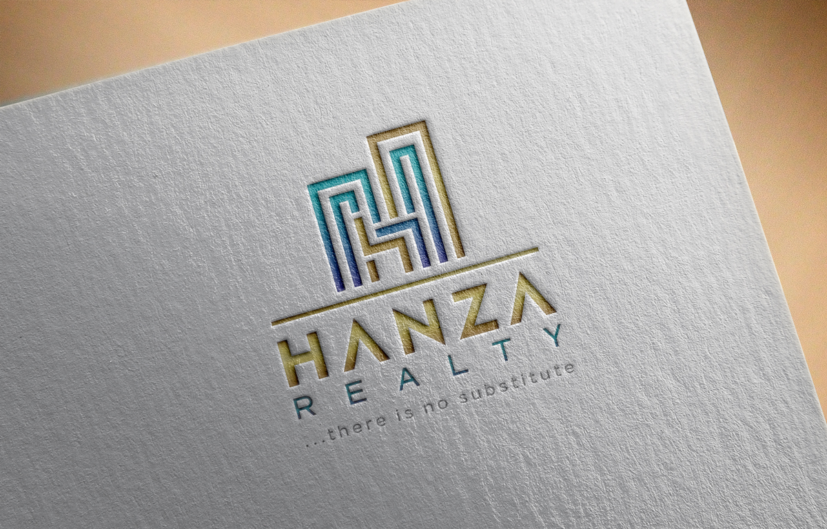 Logo Design by Tauhid Shaikh - Entry No. 403 in the Logo Design Contest Logo Design for Hanza Realty.