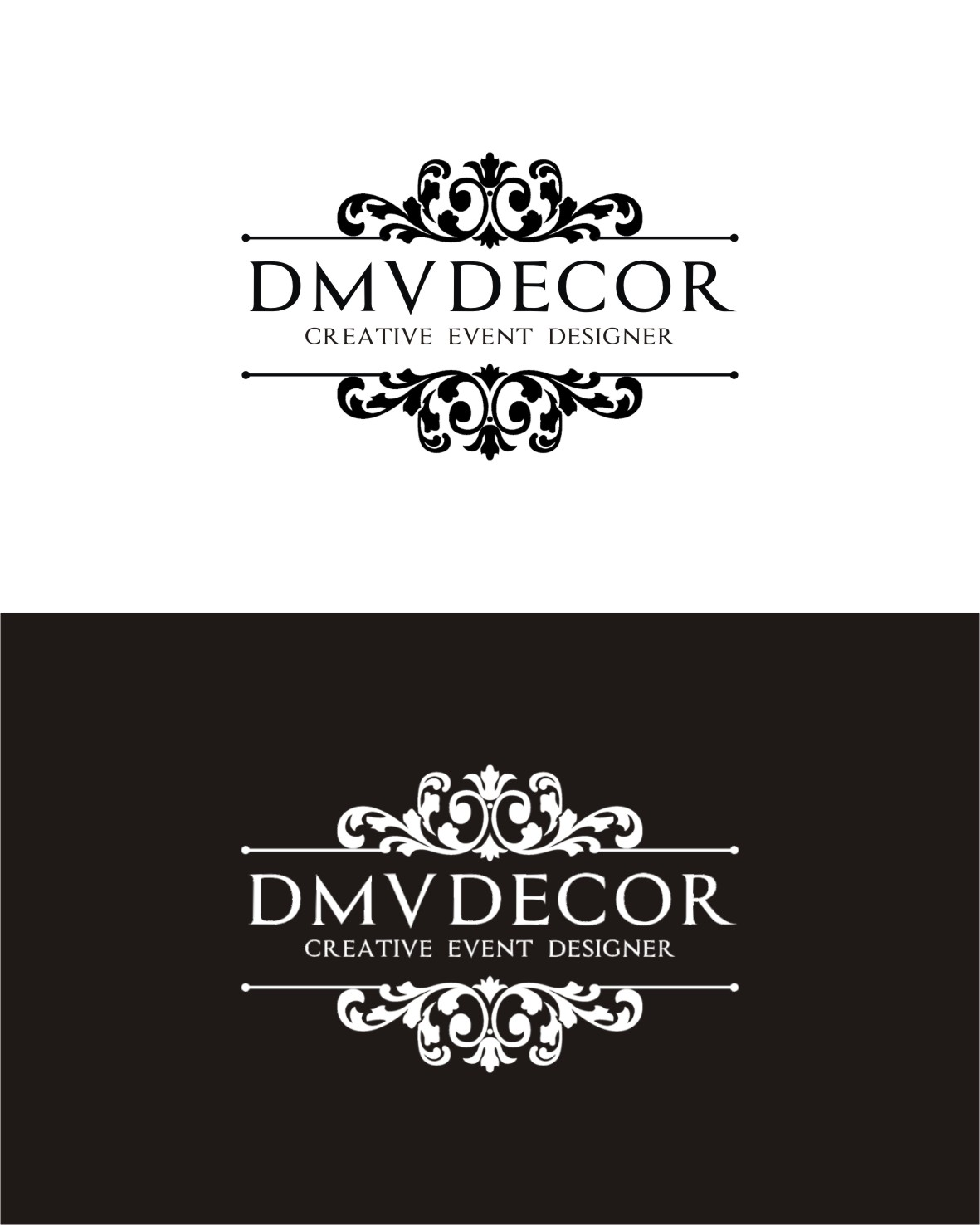 Logo Design by Lynx Graphics - Entry No. 167 in the Logo Design Contest dmvdecor Logo Design.