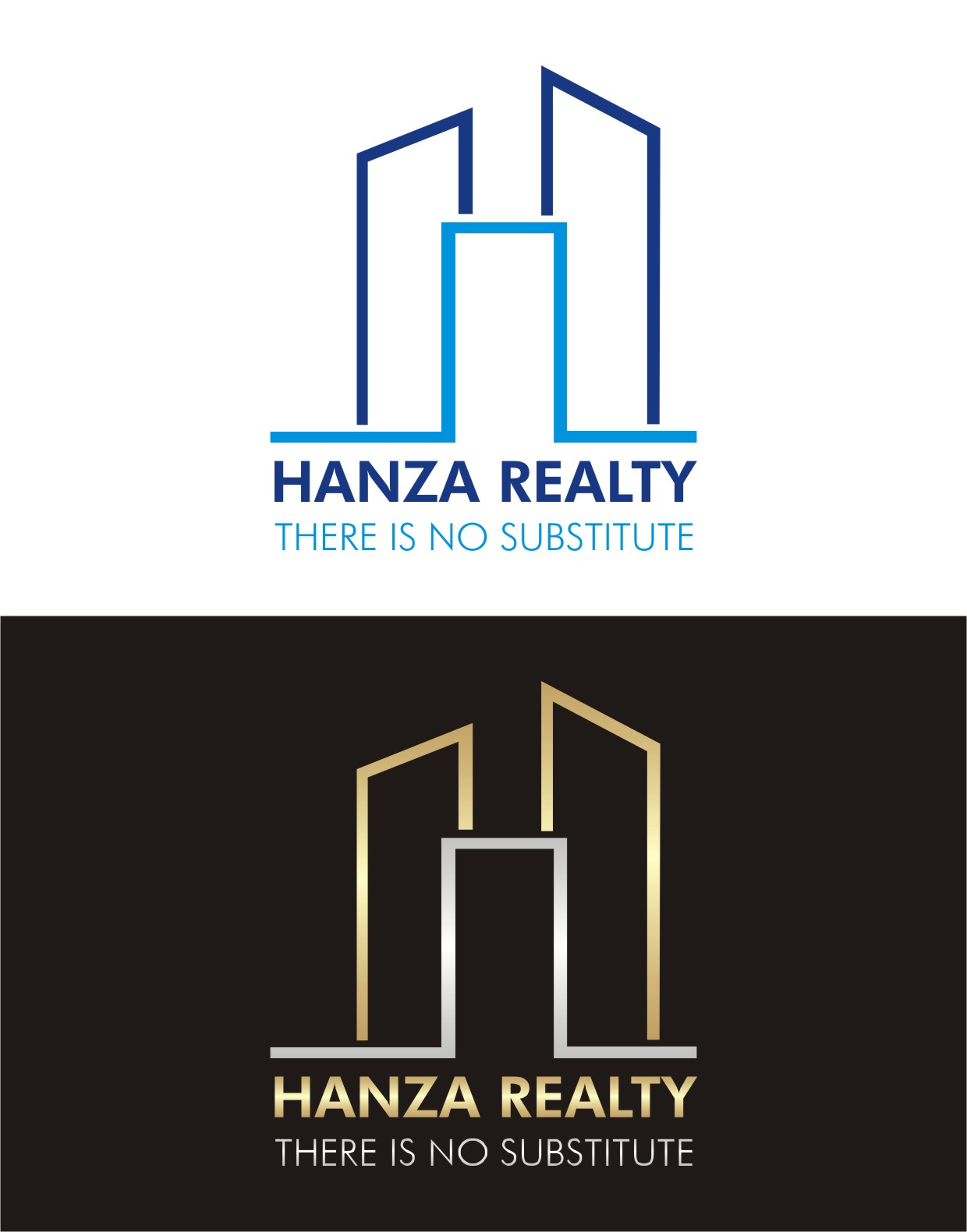 Logo Design by Lynx Graphics - Entry No. 415 in the Logo Design Contest Logo Design for Hanza Realty.
