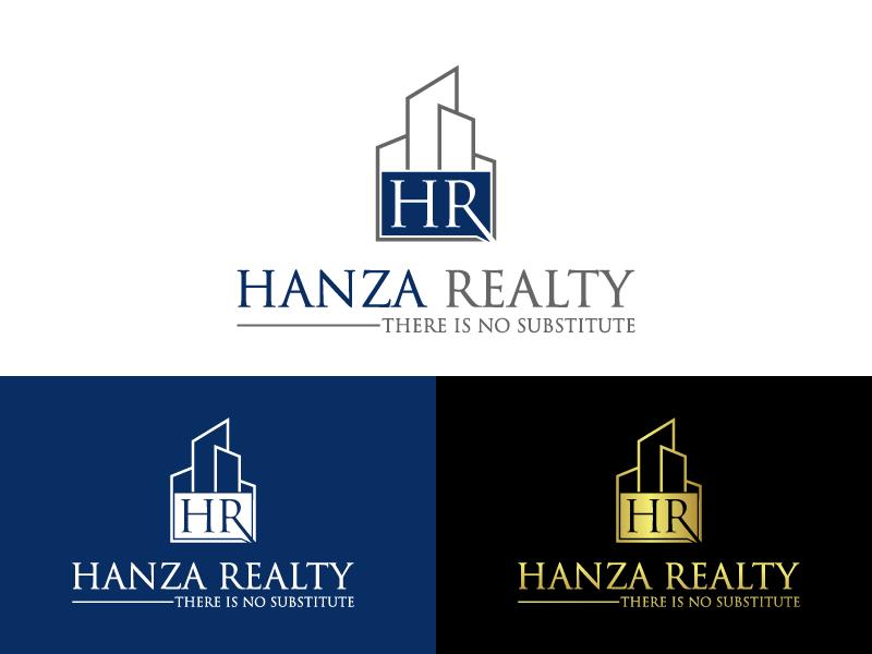 Logo Design by Private User - Entry No. 422 in the Logo Design Contest Logo Design for Hanza Realty.