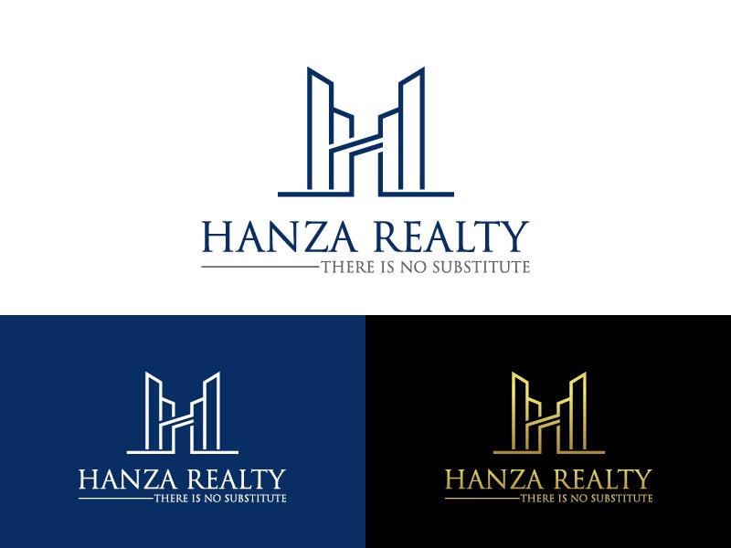 Logo Design by Private User - Entry No. 423 in the Logo Design Contest Logo Design for Hanza Realty.