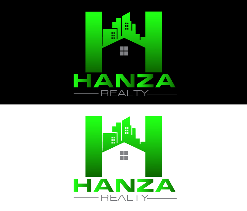 Logo Design by Private User - Entry No. 426 in the Logo Design Contest Logo Design for Hanza Realty.
