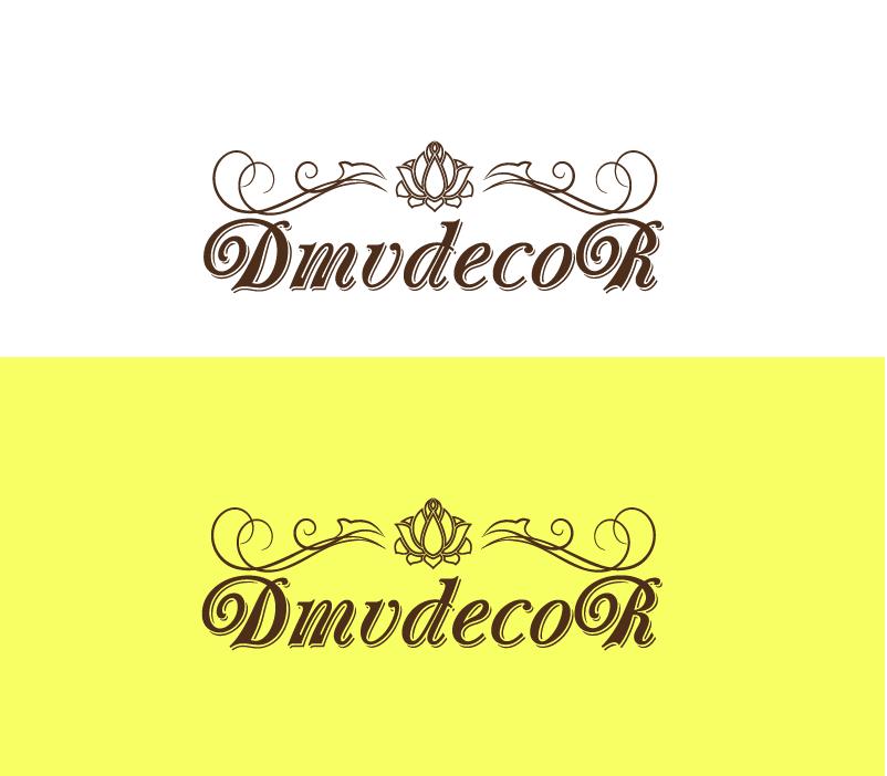 Logo Design by Private User - Entry No. 170 in the Logo Design Contest dmvdecor Logo Design.