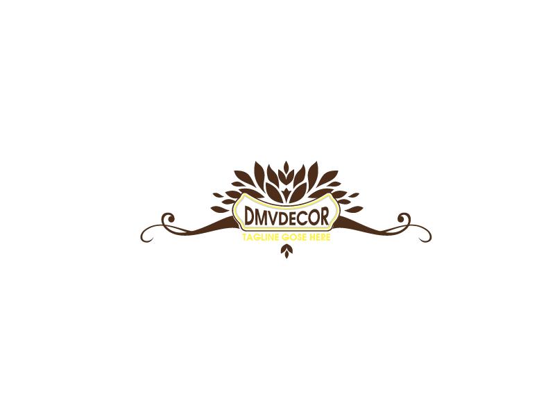 Logo Design by Private User - Entry No. 171 in the Logo Design Contest dmvdecor Logo Design.